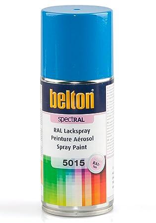 Amazonfr Ral 5015 Bleu Ciel Mat Belton Bombe Peinture 150 Ml