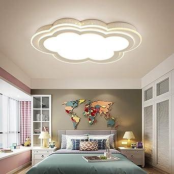Algo De Luz De Techo Dormitorio Moderno De Luces Led Lámpara ...
