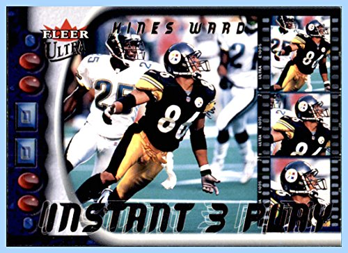 2000 Ultra Instant Three Play #13 Hines Ward PITTSBURGH STEELERS GEORGIA BULLDOGS]()