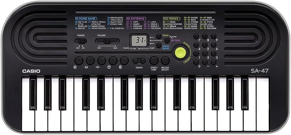 Mini teclado CASIO SA-47 - 32 teclas: Amazon.es: Instrumentos ...