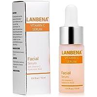 LANBENA Vitamin C Serum Remove Freckle Fade Dark Spot Anti-aging Whiten Moisturize Facial Serum