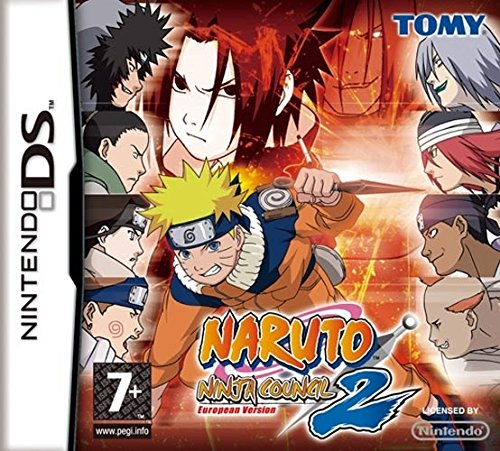Nintendo Naruto: Ninja Council 2, NDS - Juego (NDS, Nintendo ...