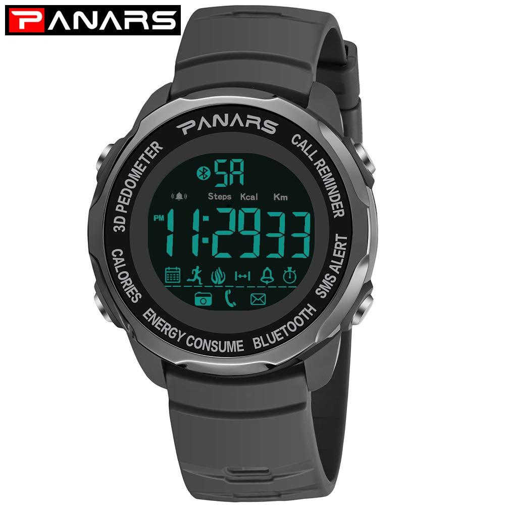 Msxx Smartwatch Relojes Hombre, PodóMetro, CaloríAs ...