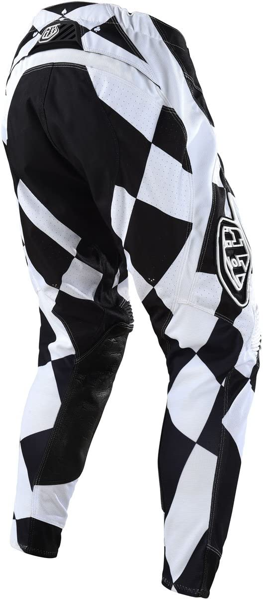 34, White//Black Troy Lee Designs Mens Offroad Motocross SE Pant Joker