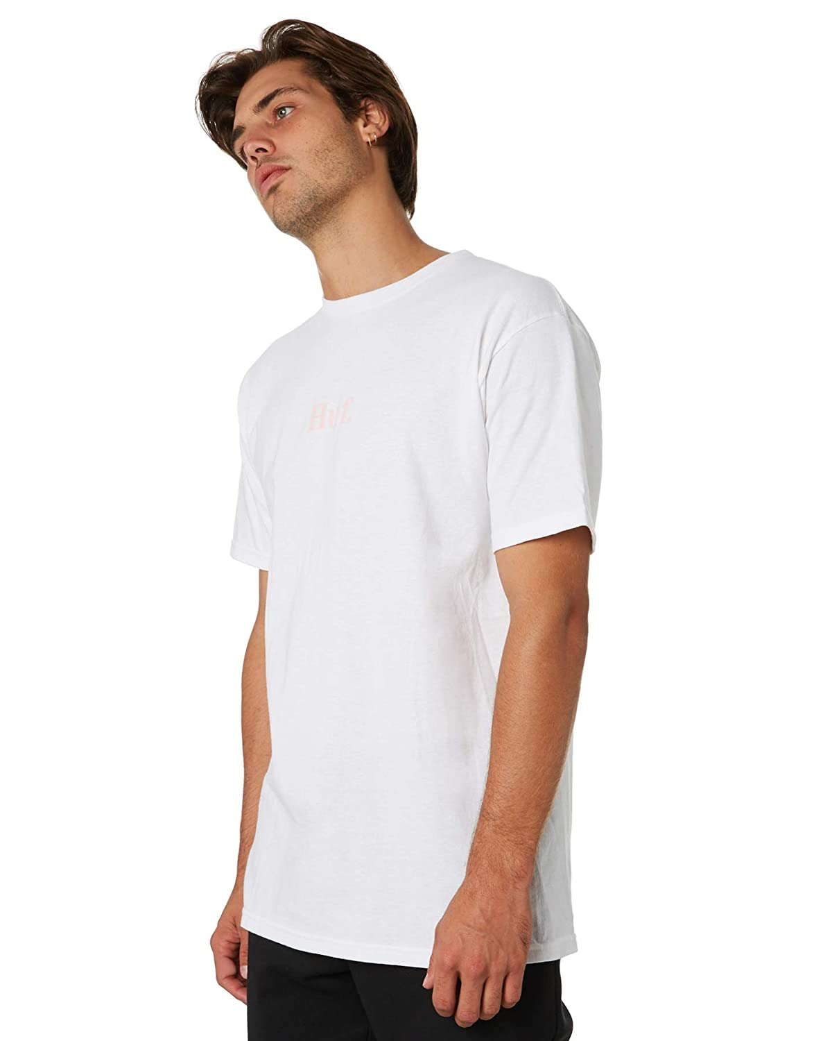 White HUF Worldwide Road to Ruin Short Sleeve Tee Mens Graphic Shirt
