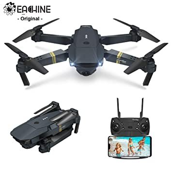 EACHINE E58 Drone con Camara HD 2.0MP 720p Wide Angel Drone con ...