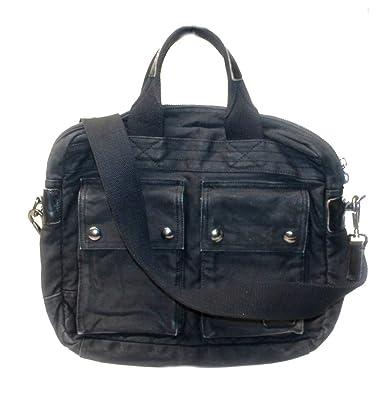 b895b65129 Polo Ralph Lauren Business Case Messenger Bag Leather Canvas TW32  Amazon.co.uk   Shoes   Bags