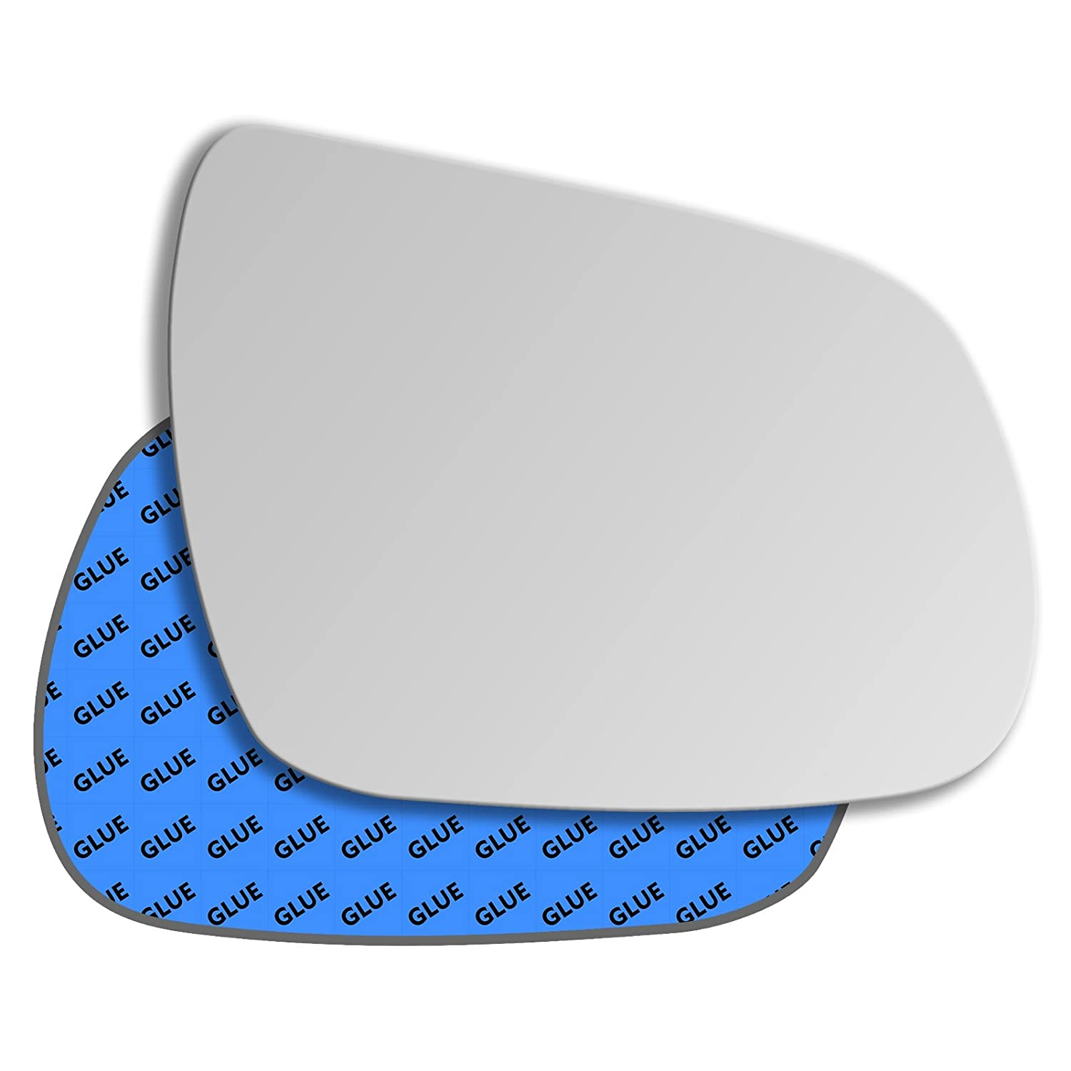 Hightecpl 536RS Right Driver Side Convex Door Wing Mirror Glass Channel Autoparts Limited