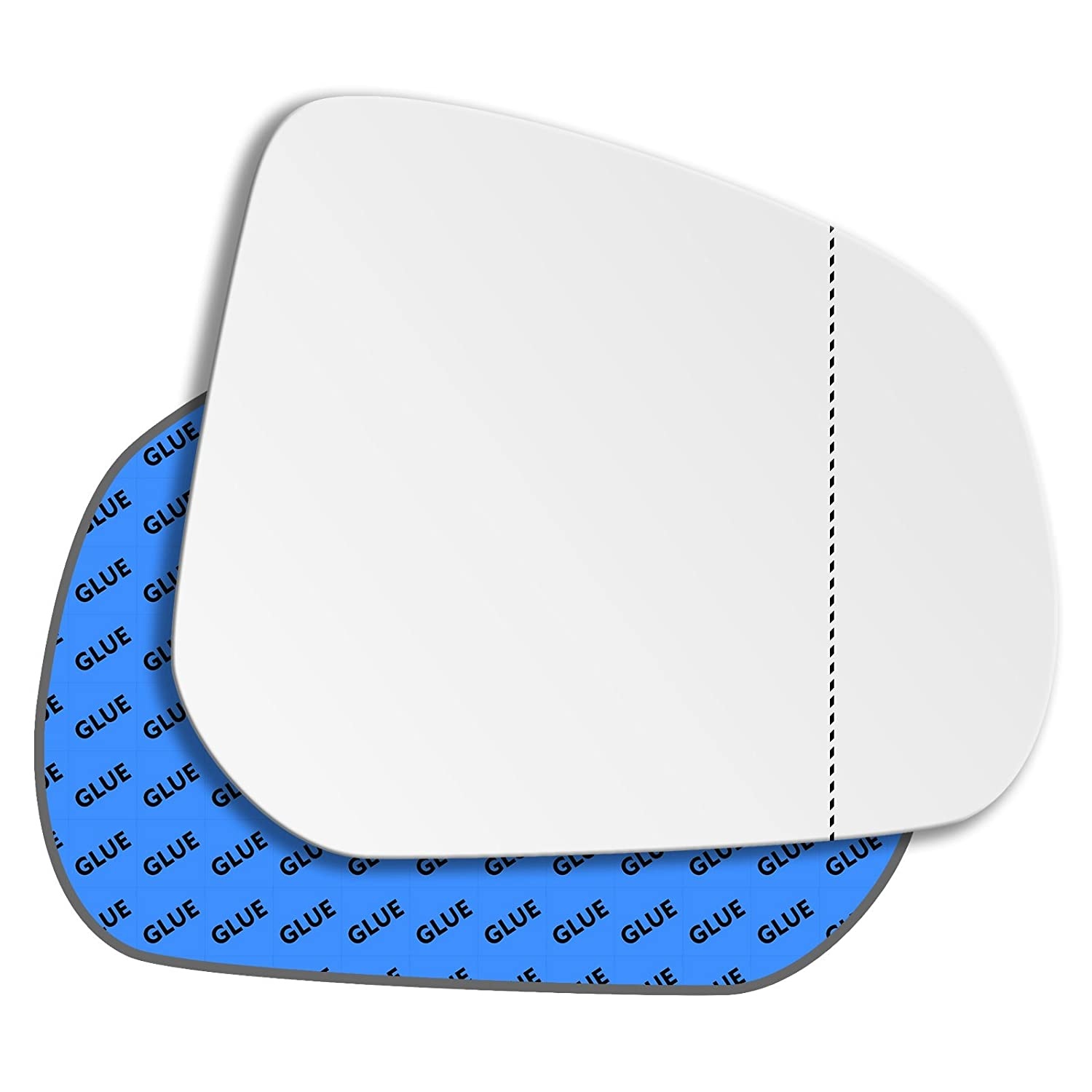 Hightecpl 92RAS Right Hand Driver Off Side Wide Angle Wing Mirror Glass Replacement