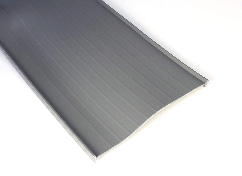 8 Wide Door 1//4 T Style 3 Garage Door Bottom Seal Weatherstrip in Grey All Widths