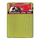 """BlackHole Litter Mat Blackhole Cat Litter Mat - Large Size Rectangular 30"""" X 23"""" (Green) …"""