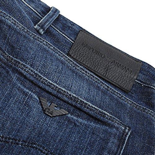 Uomo Emporio Denim Blu Jeans Armani qEyEw10X