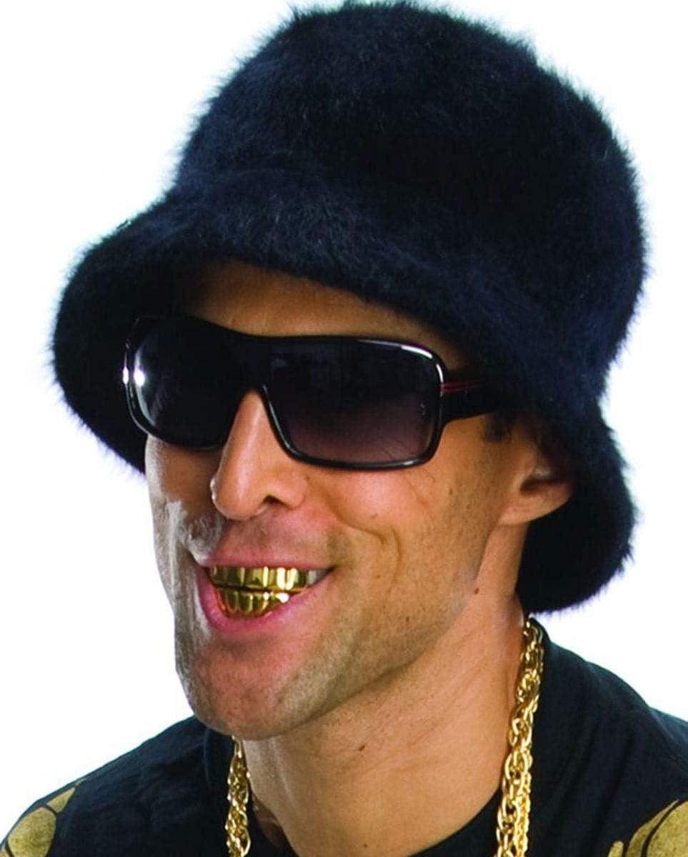 dientes rapero oro Grillz: Amazon.es: Juguetes y juegos
