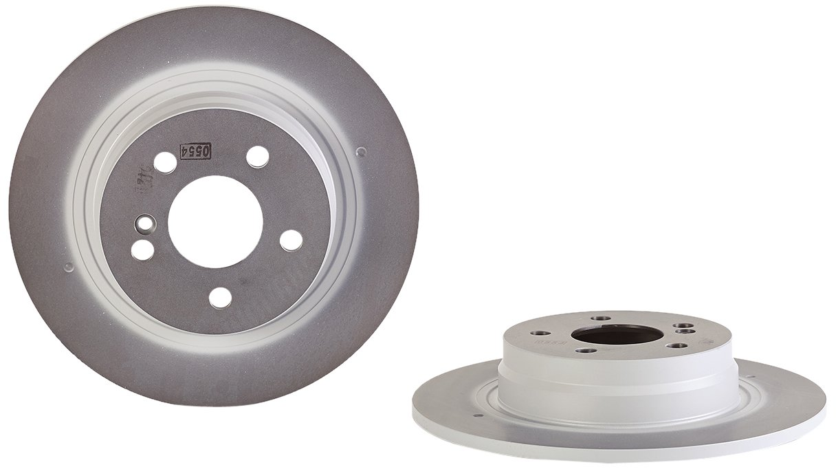 Brembo 08.A612.41 Rear UV Coated Brake Disc - Set of 2 Brembo S.p.A.