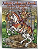 Adult Coloring Book Variety Themes #3: Stress Relief Activity (Volume 3)