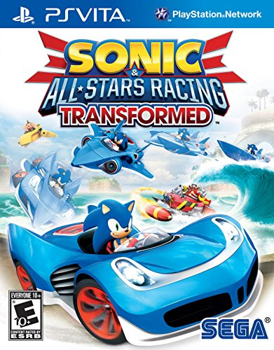 Sonic & All-Stars Racing Transformed PlayStation Vita (Games Sonic Vita Ps)