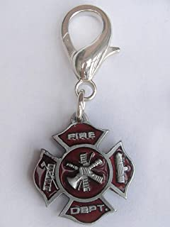 product image for Diva-Dog First Responder Dog Collar Charm or Keychain