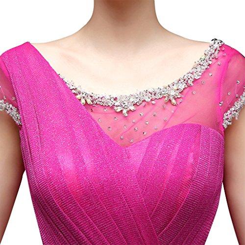 Drasawee Plissee Drasawee Damen Kleid Damen 86Cw0q