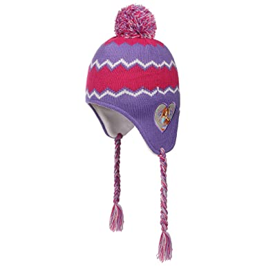 f4a75cc1e112 Chapeaushop Bonnet Peruvien Winx Club Girly Protege Oreilles en Tricot  (Taille Unique - Lilas)  Amazon.fr  Vêtements et accessoires