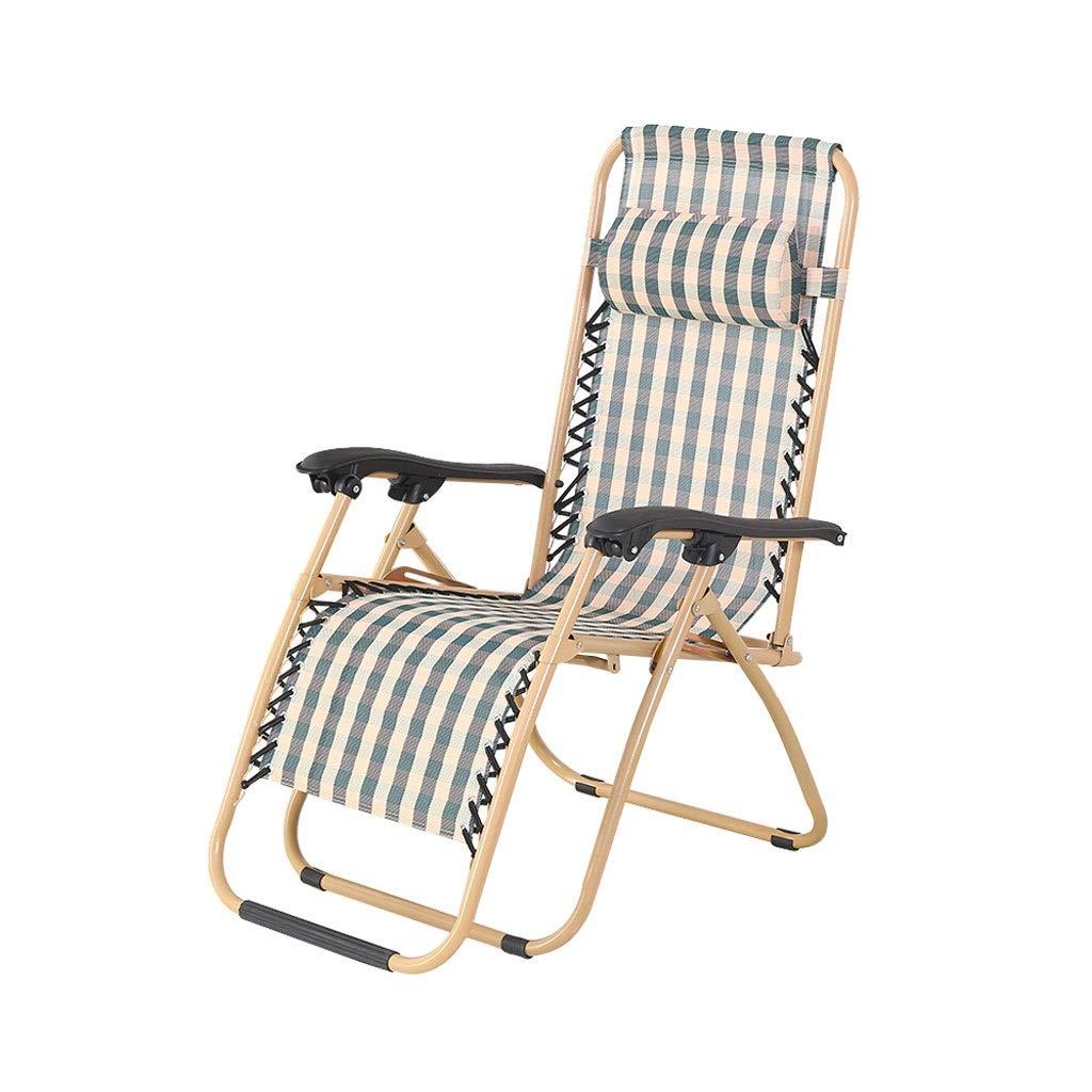 Miaoliangliang 携帯用ゼロ重力のラウンジチェアの広いArmrestの調節可能なリクライニングチェア、折るオフィス/昼休み/浜/怠惰なリクライニングパティオの椅子 B07SXS1Y26
