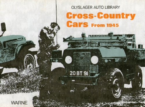 Cross-country Cars from 1945 (Olyslager Auto Library)