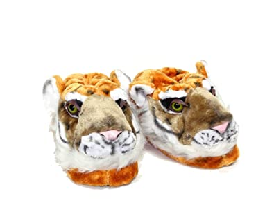 89158a8f2539a stunning sleeperz tigre chaussons animaux peluche homme femme enfant ide  cadeau with chausson femme original