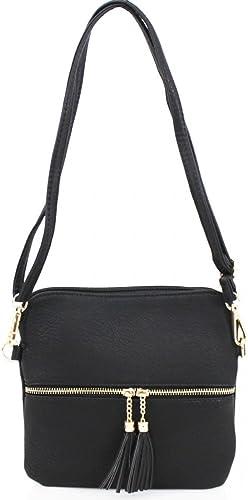 LeahWard Women/'s Soft Clutch Bags With Tassel Charm Shoulder Strap Wedding Purse
