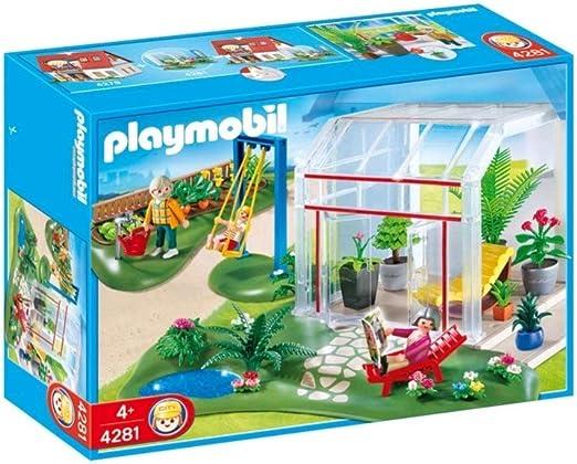PLAYMOBIL - Invernadero con Jardín (4281): Amazon.es: Juguetes y juegos