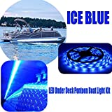 RestorePontoon Boat Under Deck LED Lighting Kit-ICE BLUE