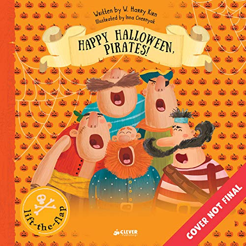 Happy Halloween, Pirates!: Lift-the-Flap Book (Clever Flaps) -