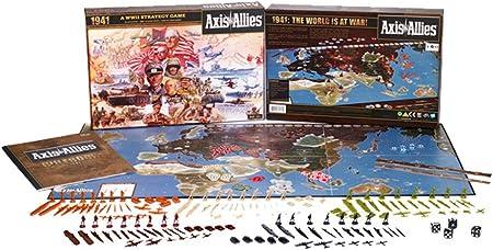 Wizards of the Coast- Axis & Allies 1941-Juego de Mesa sobre Guerra Entre Eje y Aliados (inglés) (396870000): Amazon.es: Juguetes y juegos
