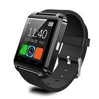 SYKJ-U8 Bluetooth Smart Phone Orologio Sportivo contapassi Orologio Nero Bello da Vedere, Pratico e conveniente