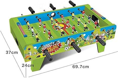 WAWDZG Máquina De Mesa Juguetes Futbolín Tabla 6 Interacción Partido De Fútbol Entre Padres E Hijos De Los Niños Futbolín Infantil Juguetes Inteligentes: Amazon.es: Hogar