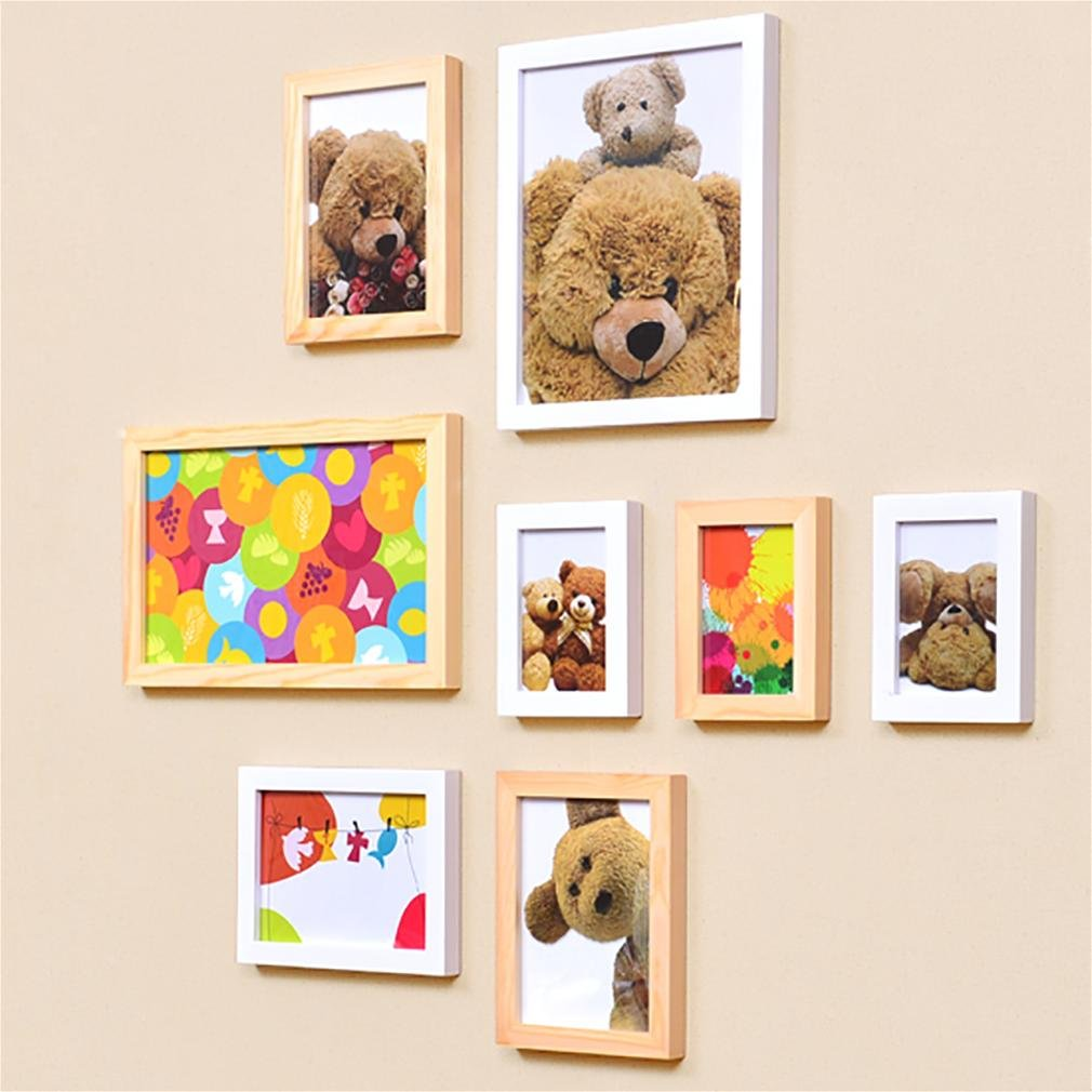 WillST Multi Picture Photo Frame European Style Creative Home Decoration 8pcs , a by Unknown (Image #5)