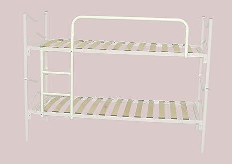 Set scaletta e protezione per letto a castello, colore bianco ...