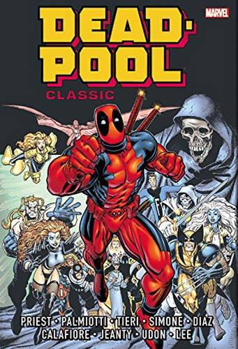 Deadpool Classic Omnibus Vol Marvel product image