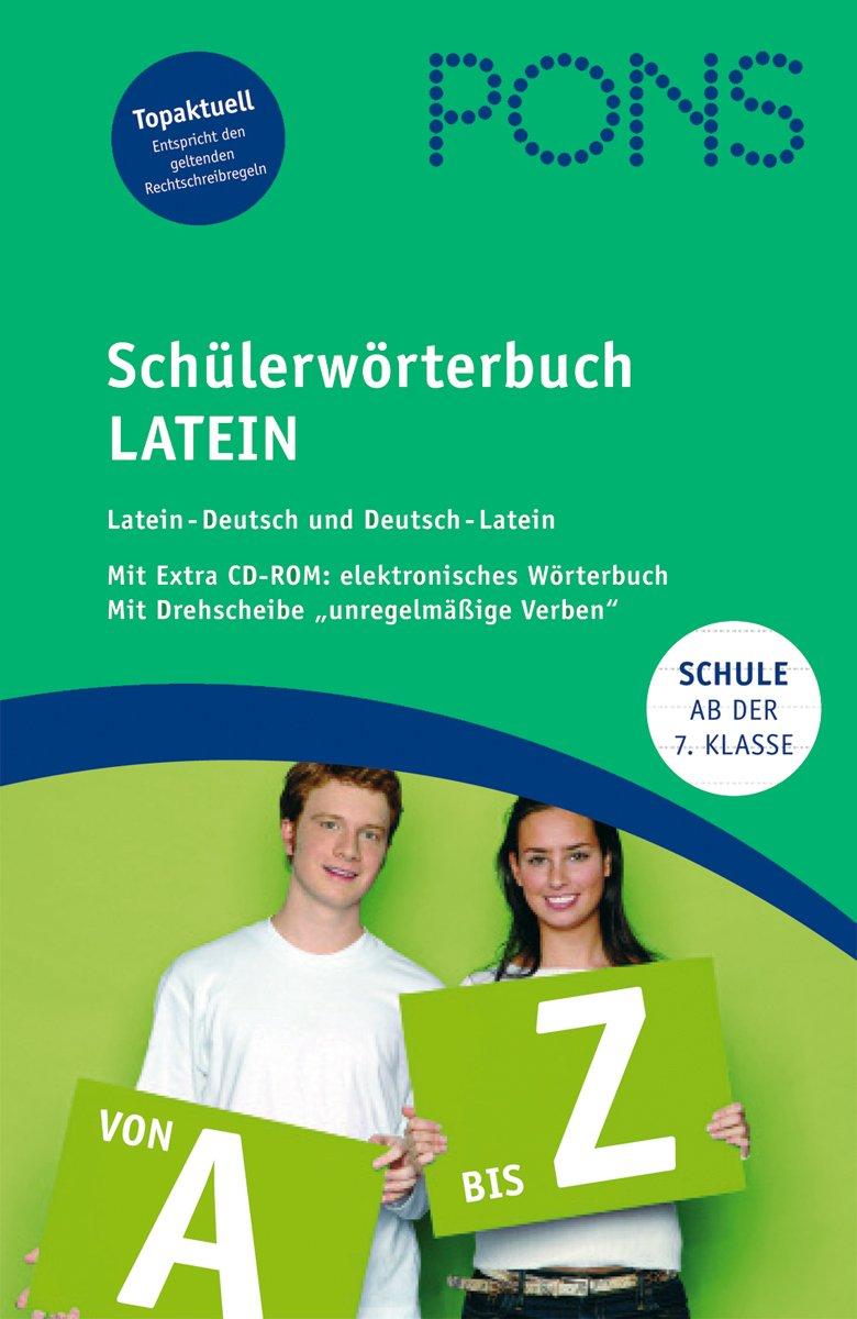 PONS Schülerwörterbuch Latein. Ab 7. Klasse. Mit CD-ROM und Drehscheibe