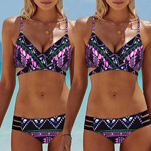 Flessione Caldo Fascia Up Imbottito Sulle Bagno Beachwear Donne Costumi Spiaggia Bikini Capestro Sexy Sumtter Boemia Braccia Alta Brasiliano Mare Rosa Push Costume Vita Reggiseno wZgPTxFnq