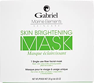 product image for Gabriel Organics, facial Masks (Skin Brightening),Vegan, Natural, With Papaya and Liquorice root extract,exfoliate skin for a glowing, healthy complexion