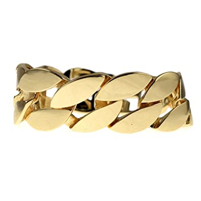 chain bracelet dhgate figaro samanthalam men from product plated big thick jewelry huge com gold wide real