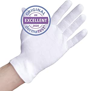 Dermatest: Excelente - Well B4® Care Guantes de algodón, guantes ...
