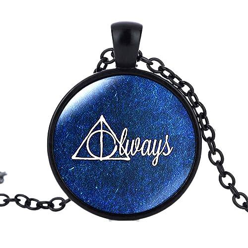 Joyplancraft Harry Potter Inspired Glass Dome Necklace Vintage