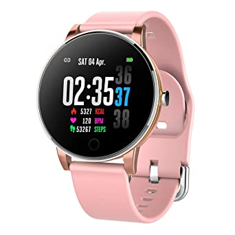 Smart Watch IP68 Impermeable Cuerpo de Metal Correa de Reloj ...
