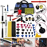 Dent Repair Kit Tool Box Puller PDR Tools - Paintless Dent Repair Tools Automotive Car Ding Hail Hammer Lifter Set - Skroutz