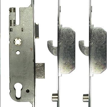 Gu G4 estilo 3 piezas reparación cerradura – 2 gancho 2 – Rodillo 40 mm Backset: Amazon.es: Bricolaje y herramientas