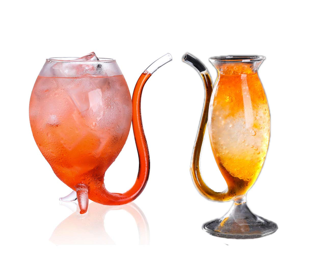 Vampire Cup Creative Portable Straw Glass Vampire Cup Personality Glass Cocktail Glass