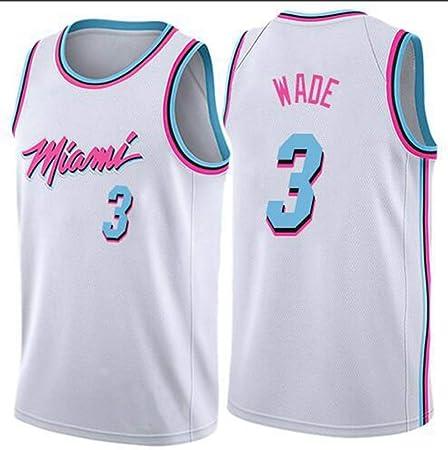 Camiseta de baloncesto para hombre Wade # 3 Ropa deportiva ...