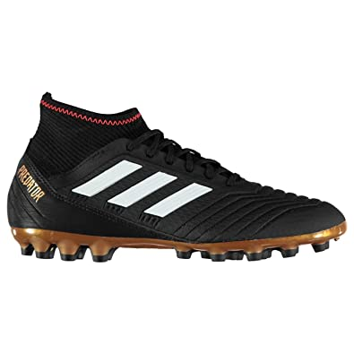 291ea8796 Adidas Predator 18.3 Artificial Ground Football Boots Mens Black Soccer  Cleats: Amazon.co.uk: Shoes & Bags