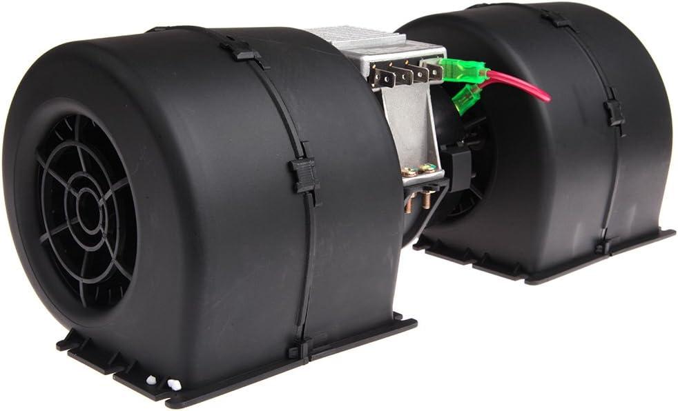 12V SCITOO ABS Plastic Heater Blower Motor w//Fan HVAC Resistors Blowers Motors fit 008-A45-02