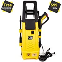 GBK 2100 PSI Electrical High Pressure Washer 1.5 GPM Water Flow 6m hose with 1 Year Free Warranty